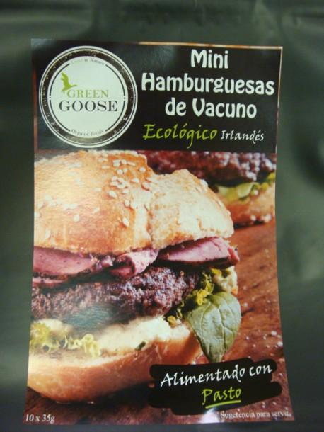 Organic  Mini Beef Burguers( Angus/Hereford)