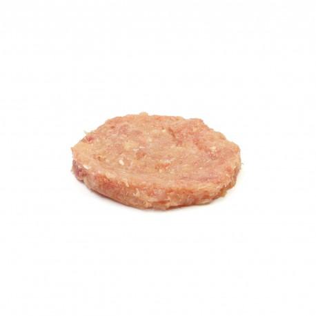 Hamburguesa de pollastre ecològic(sense sal ni pebre)