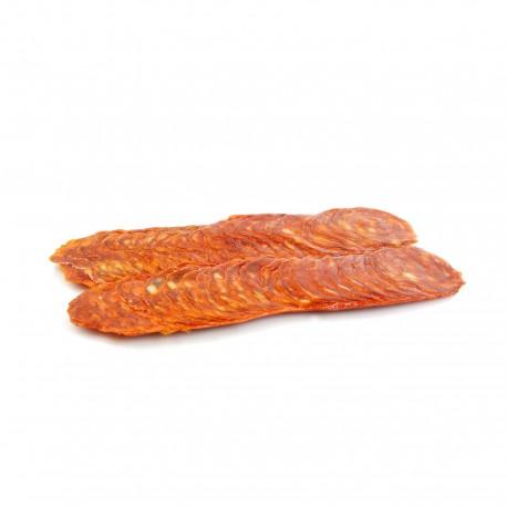 Chorizo ecológico en lonchas